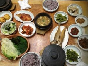 釜山駅韓定食