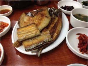 チャガルチ市場焼き魚
