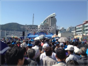 チャガルチ祭り刺身ビビンバ2200人