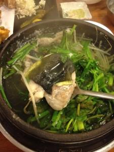 釜山グルメふぐ鍋