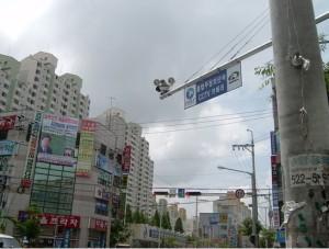 韓国駐車禁止