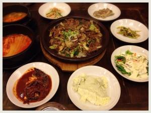 南浦洞韓定食1