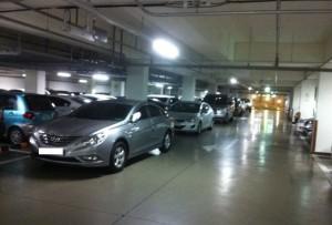 韓国二重駐車2