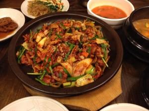南浦洞韓定食12