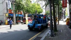 韓国駐車違反5