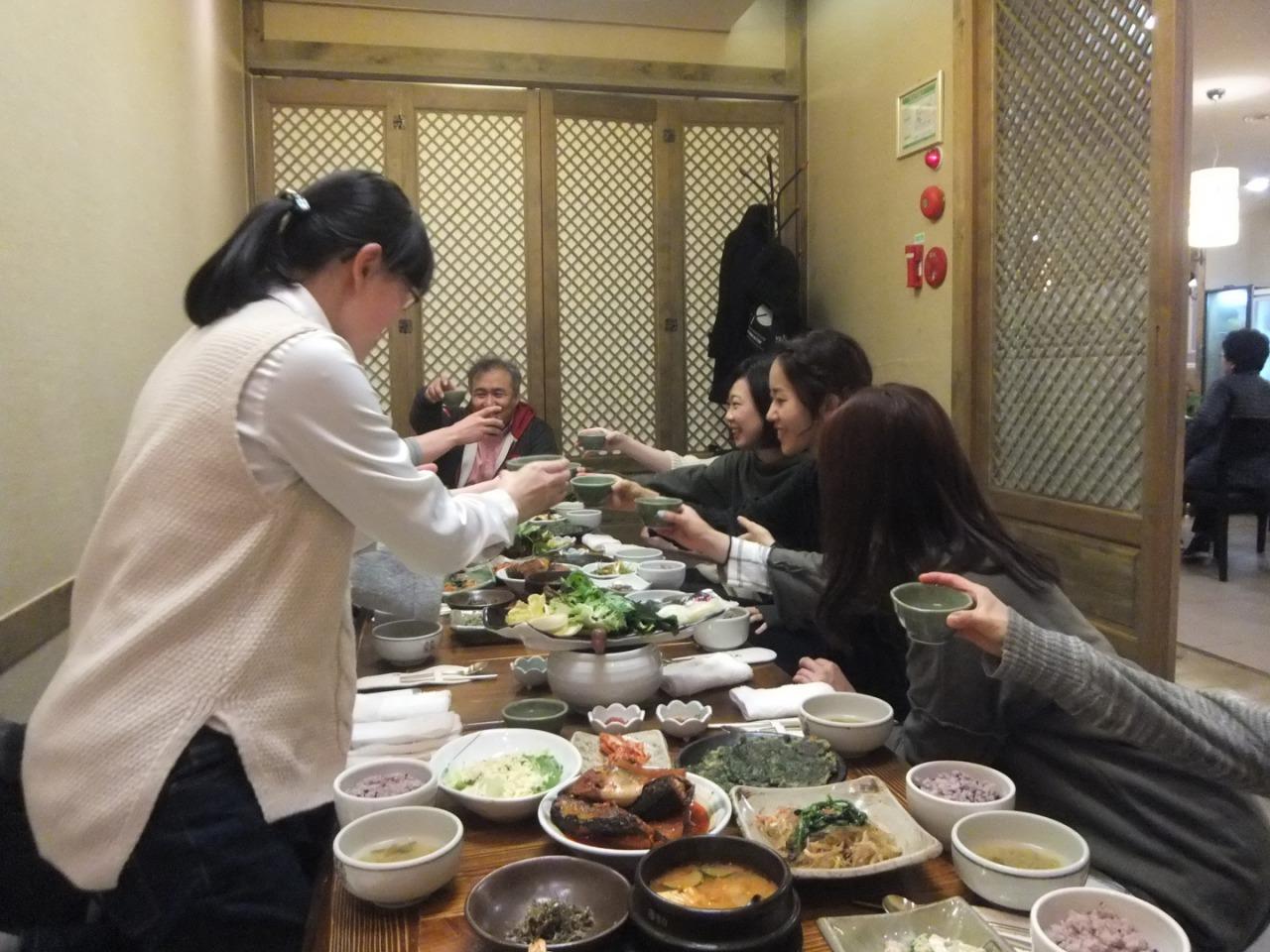 釜山留学食事会1