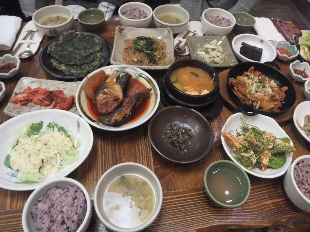 釜山留学食事会2