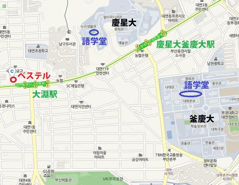 ベステル地図