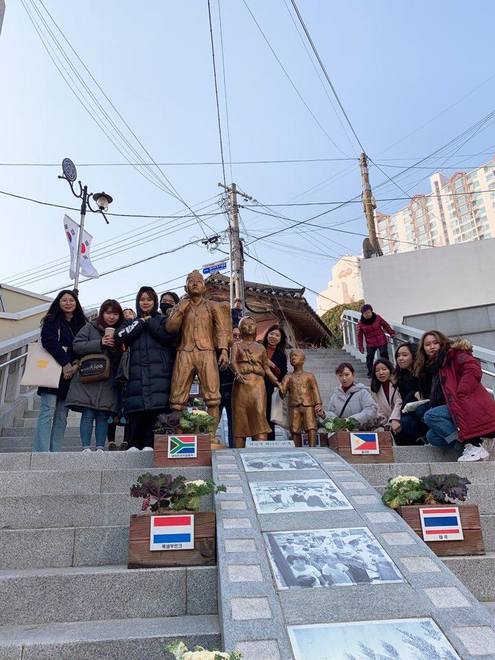 釜山カトリック大学文化研修