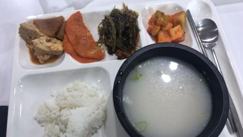 釜山外国語大学寮の食事15