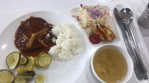 釜山外国語大学寮の食事22