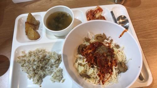 釜山外国語大学寮の食事19