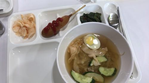 釜山外国語大学寮の食事14
