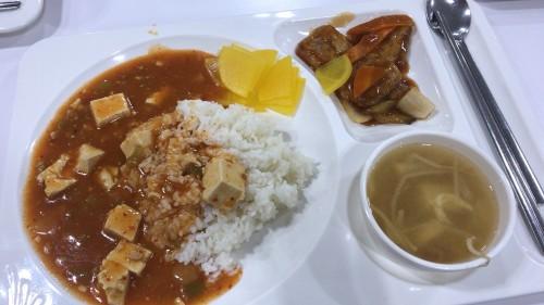 釜山外国語大学寮の食事3