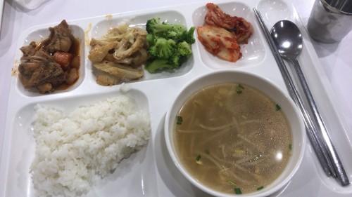 釜山外国語大学寮の食事21
