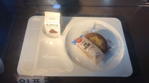 釜山外国語大学寮の食事16
