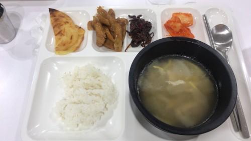 釜山外国語大学寮の食事20
