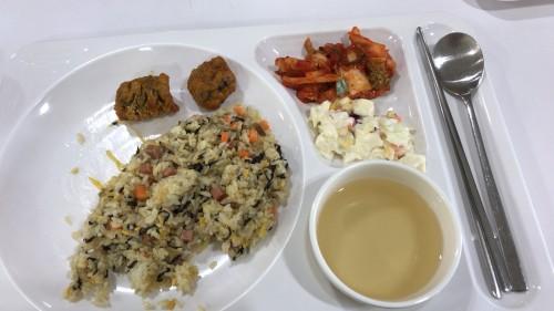 釜山外国語大学寮の食事11
