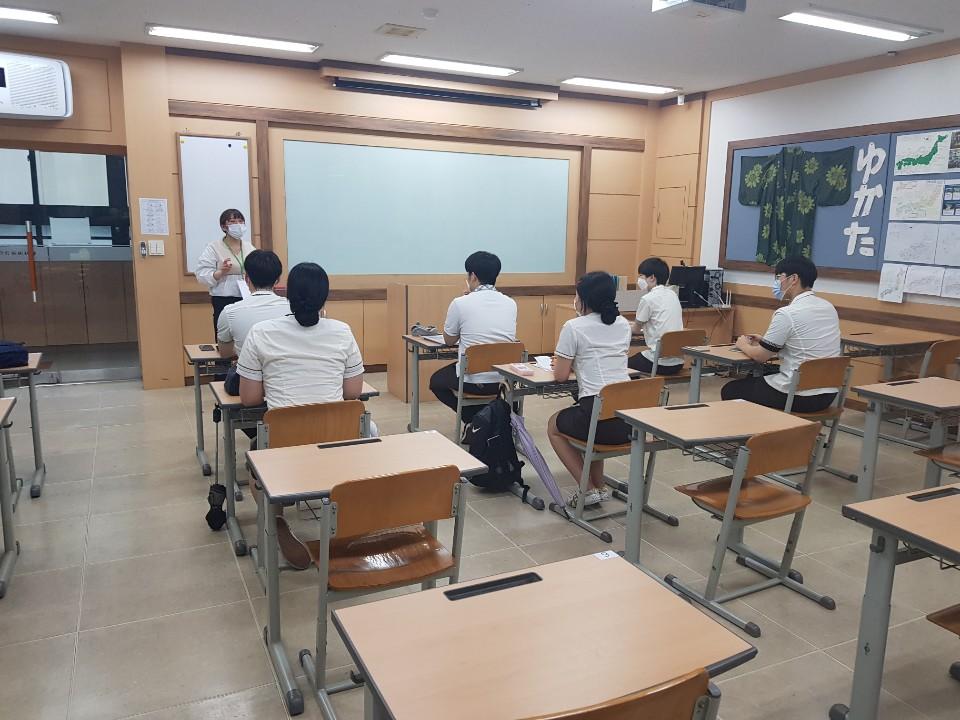 韓国高校生日本語授業