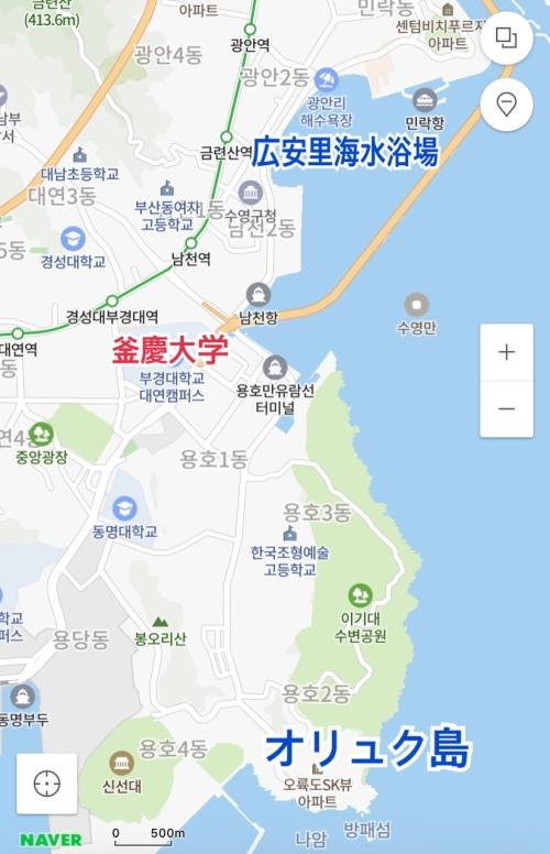 釜慶大学周辺10