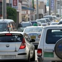 韓国二重駐車3