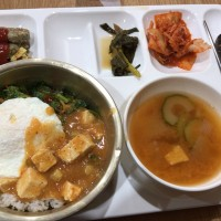 釜山外国語大学寮の食事17